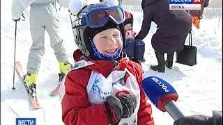 Соревнования юных спортсменов по ски-кроссу (ГТРК Вятка)