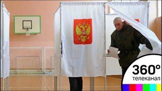 В Балашихе на избирательные участки приходят военнослужащие голосовать