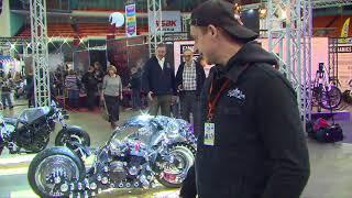 В Москве представлен «мотоцикл будущего»
