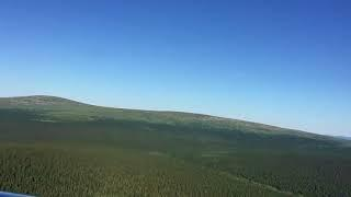 Прибытие на вертолете на плато Маньпупунер