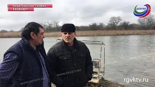 Озеро Шайтан-Казак на грани исчезновения из-за строительства водозабора