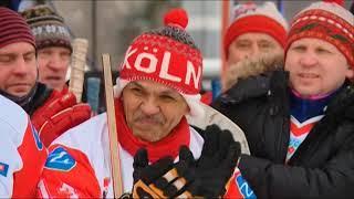 18 03 2018 Финал городского чемпионата по хоккею на валенках состоялся в сегодня в Ижевске