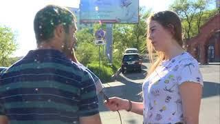 Невнимательность водителя стала причиной ДТП на Пушкинской
