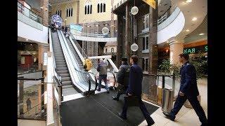 Что будет с лифтами и эскалаторами во время пожара в торговом центре??