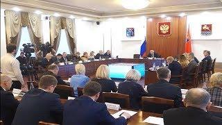 Сергей Носов  поручил министрам принять меры по зарплате бюджетников