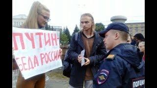 В России массовые Митинги! скандируют Путин враг России!