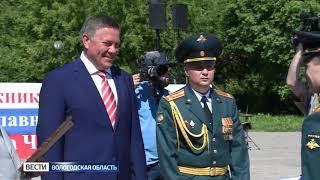 200 выпускников череповецкого военного училища пополнили ряды вооружённых сил