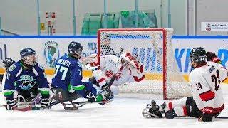 Открытый Международный турнир «Кубок Югры» среди клубов по следж-хоккею. Первый полуфинал