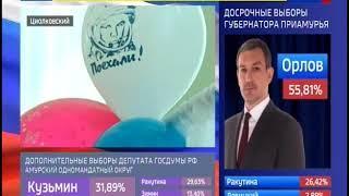 Город Циолковский лидирует по явке избирателей