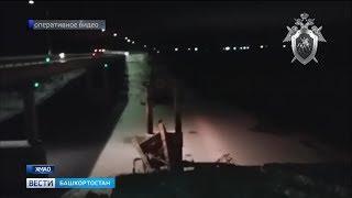 При обрушении моста в Югре пострадал житель нашей республики