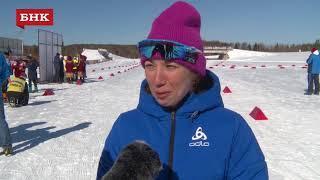 Ольга Репницына - Чемпионат России по лыжным гонкам 2018 года