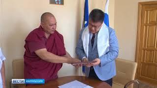 Батор Адучиев сегодня провел прием граждан.