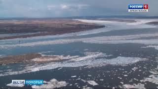 Подвижки льда на данный момент наблюдаются у Орлецов
