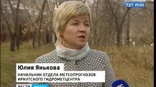 Мокрый снег и сильный ветер прогнозируют синоптики в Иркутской области