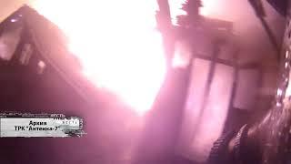 В Центральном округе горел двухквартирный дом