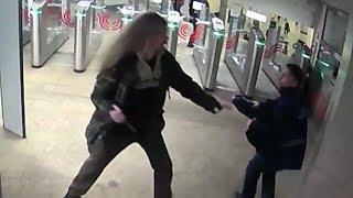 Сотрудники МВД России задержали подозреваемого в хулиганстве в московском метро