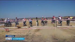 На Чемпионате республики по мотокроссу выступили шестилетки