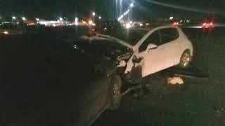 ДТП на Промышленном шоссе Ярославля: есть пострадавшие