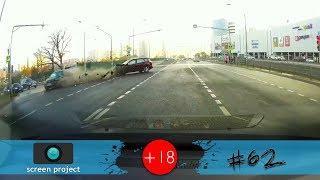 Новая подборка аварий, ДТП, происшествий на дороге, октябрь 2018 #62