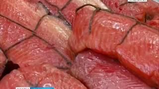 В краевой центр привезли деликатесы ценных дальневосточных пород свежего улова