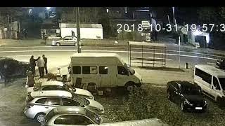 ДТП на вул. Березняківській (19:56 31.10.2018)