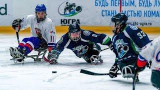 Первая игра - первая победа. Следж-хоккейный клуб «Югра» разгромил чешскую команду