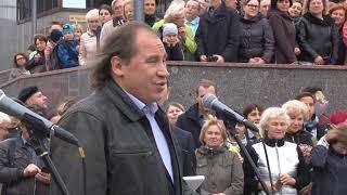 У здания нового ТЮЗа открыли памятник Юрию Киселеву