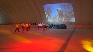 Новый ледовый каток открыли в Михайловске