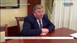 Владимир Волков провел рабочую встречу с председателем Федерации независимых профсоюзов России