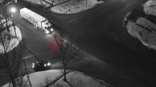Nexia влетела под прицеп грузовика. ДТП  Гагарина/ЮЗОД. 28.03.18.