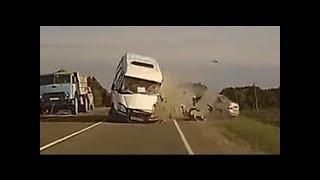 Свежая подборка ДТП и аварии.видеообзор №7
