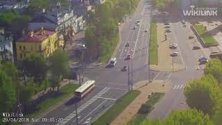 Проспект Машерова (ЦУМ), ДТП. 29.04.2018. Брест