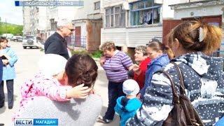 Сергей Носов встретился с жителями поселка  Снежный