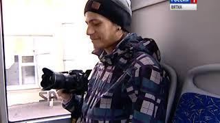 На улицах Кирова проходит обкатку новая модель троллейбуса(ГТРК Вятка)