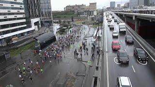 Москва, дождь и марафон