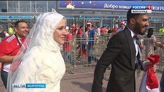 Египетский болельщик сделал предложение своей девушке на «Волгоград Арене»