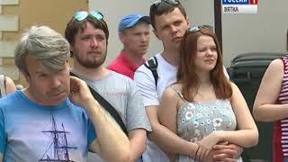 Кировчане смогли поучаствовать в «Хлыновских забавах»(ГТРК Вятка)