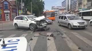 Краснодар. ДТП на Базовской и Северной. 20.05.2018