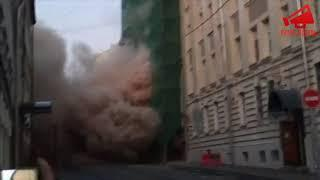 Обрушение дома в Москве.Пушкарев переулок 12