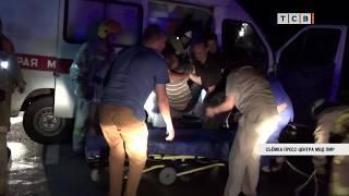 В Бендерах машина скорой помощи ночью попала в ДТП