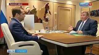 Владимир Волков провел рабочую встречу с Дмитрием Медведевым