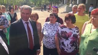 Вячеслав Володин в пос.Комсомольский