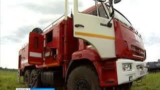 В Емельяновском районе прошли масштабные учения специального краевого Лесопожарного центра