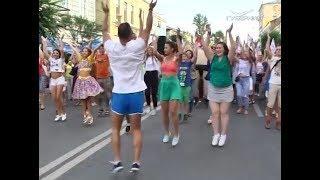 Масштабный танцевальный парад в честь закрытия ЧМ-2018 прошёл в Самаре