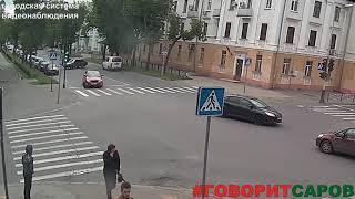 ДТП, Саров, перекресток ул Мира пр Октябрьский, 31 мая 2018