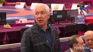 Владимир Васильев встретился с волонтёрами чемпионата Европы