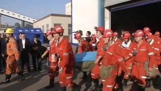 Авария на шахте в Китае: 21 погибший