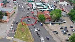 ДТП в Серпухове. Не уступил дорогу и повернул... 10 июня 2018г.
