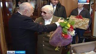 Губернатор поздравил с Днем Победы Владимира Сидорина, ветерана Великой Отечественной войны