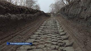Жители двух деревень в Благовещенском районе страдают от отсутствия дорог